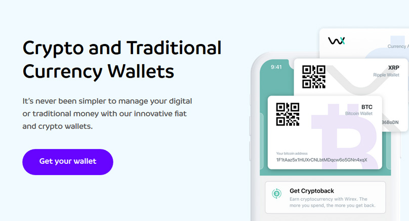 wirex cryptocurrency wallets