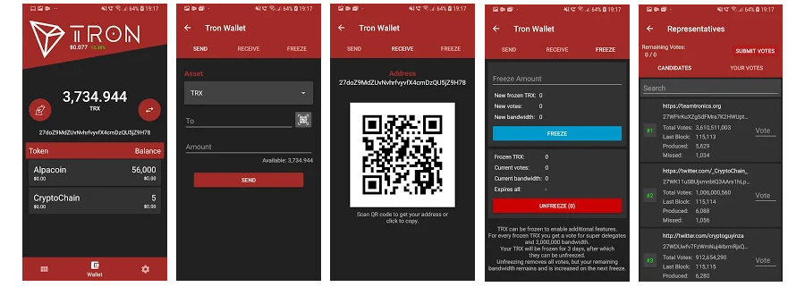tron Wallet Android